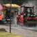 На Тернопільщині дорожники під час сильної зливи стелили асфальт (ВІДЕО)