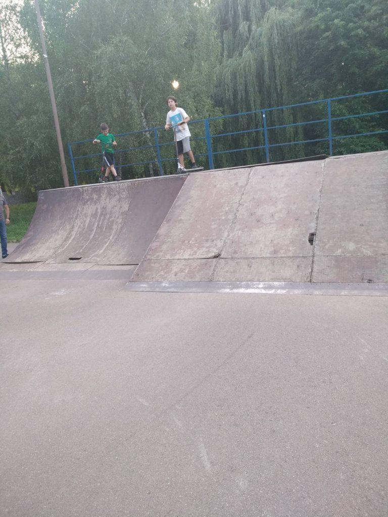 скейт-парк у Тернополі