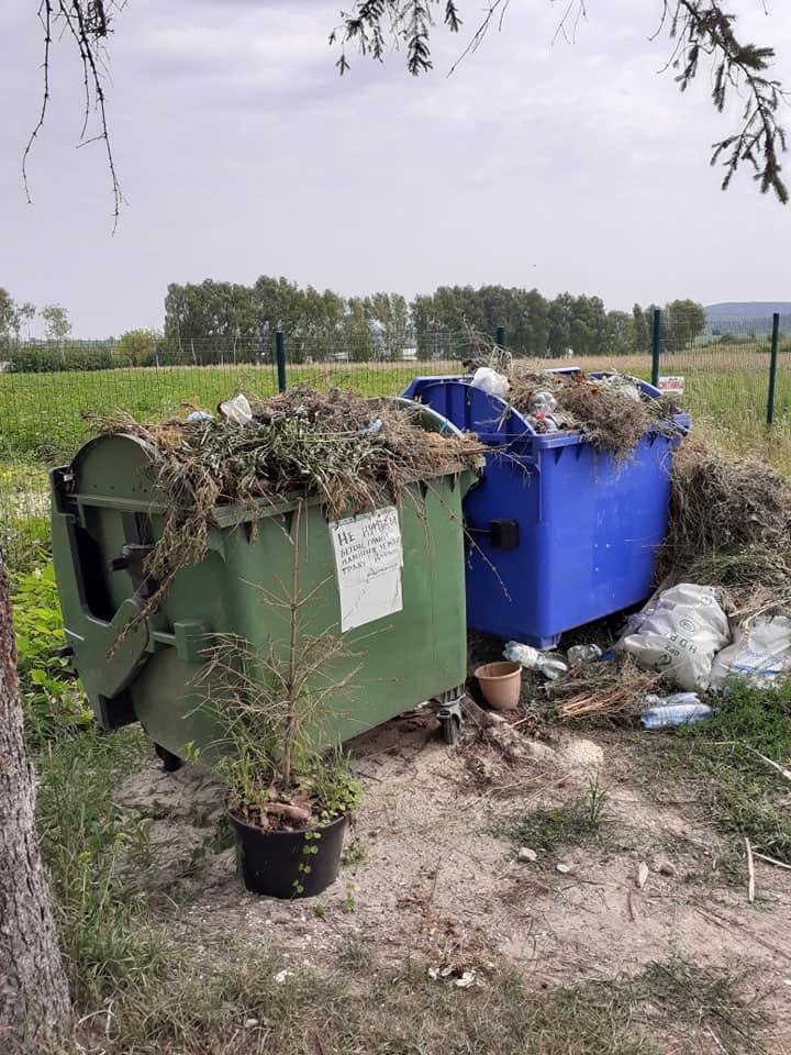 смітник, Білокриниця