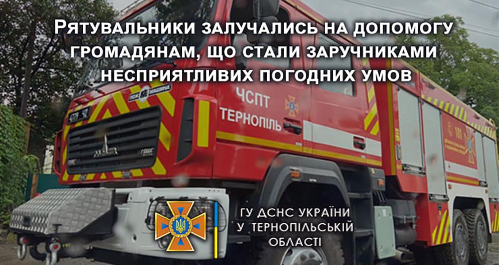 новини Тернополя, погода, потоп