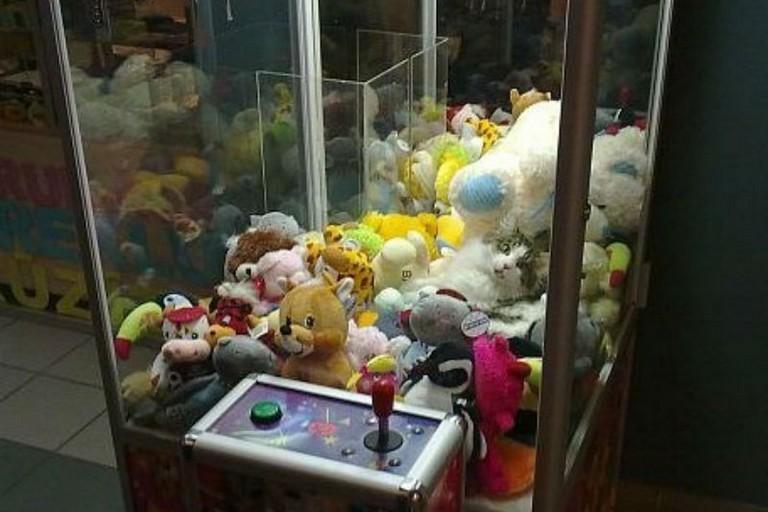 автомат з іграшками