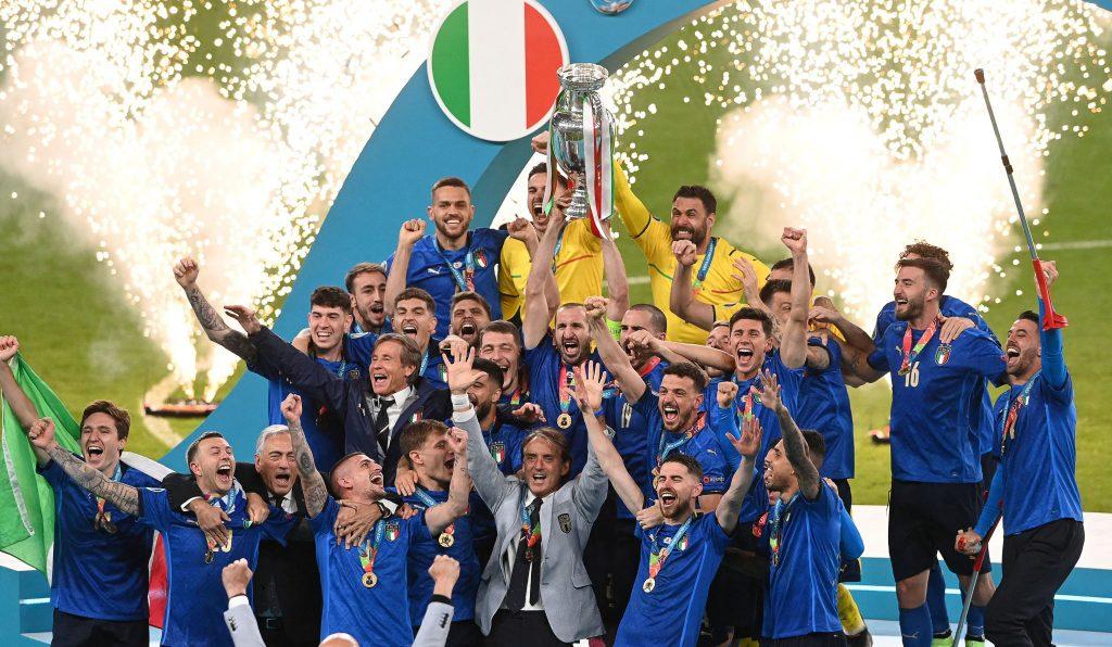 Італія – чемпіон Європи з футболу, 2020