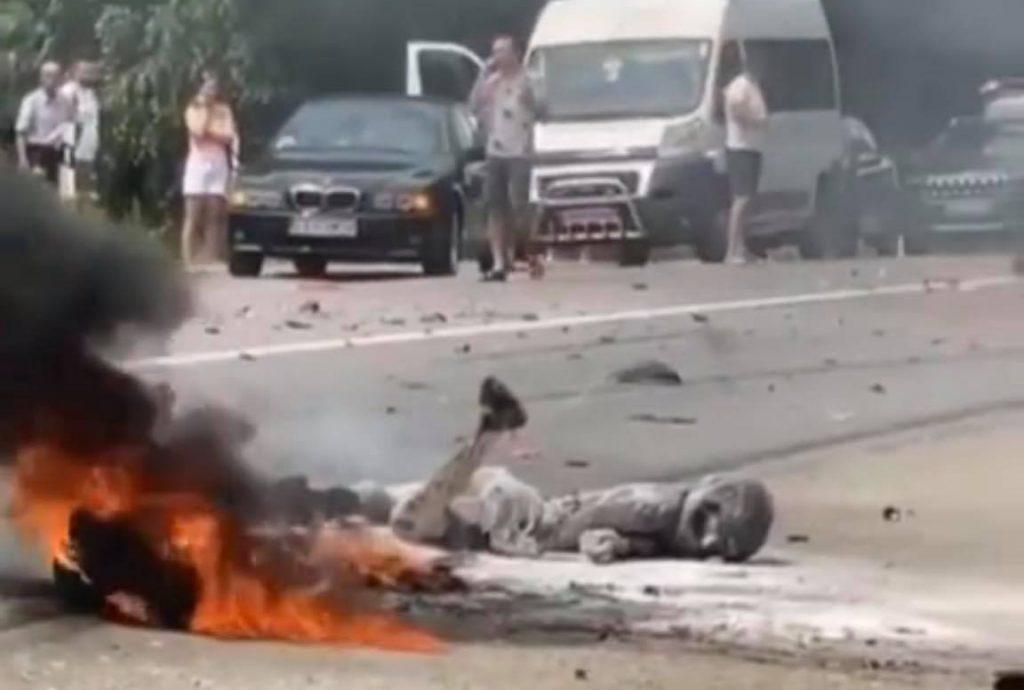 ДТП, загинув мотоцикліст