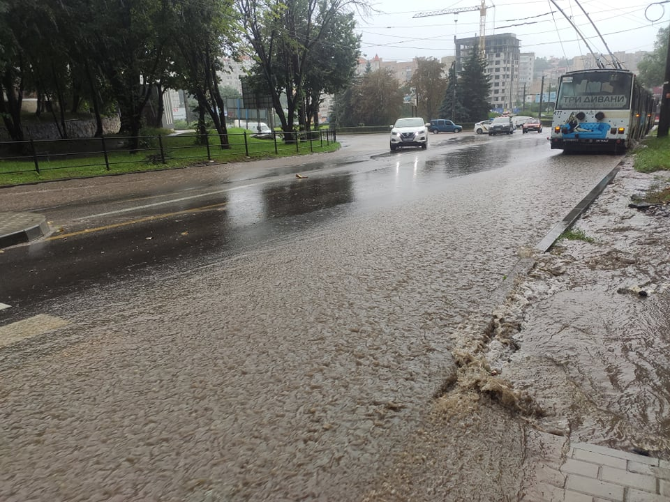 фото Тернополя після дощу