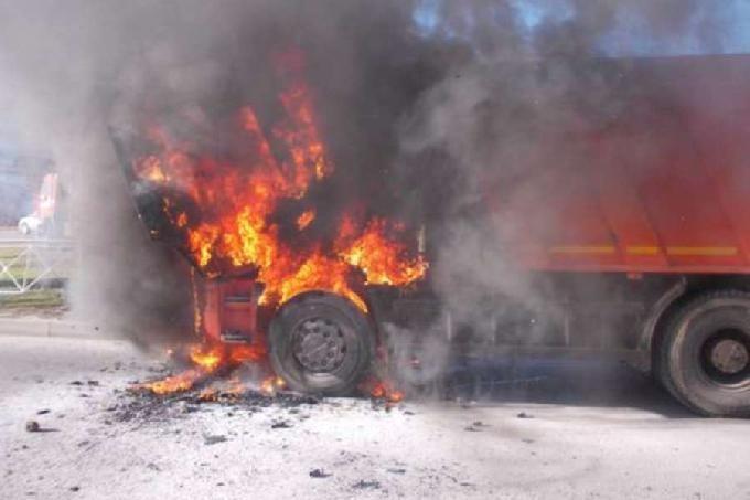 пожежа авто