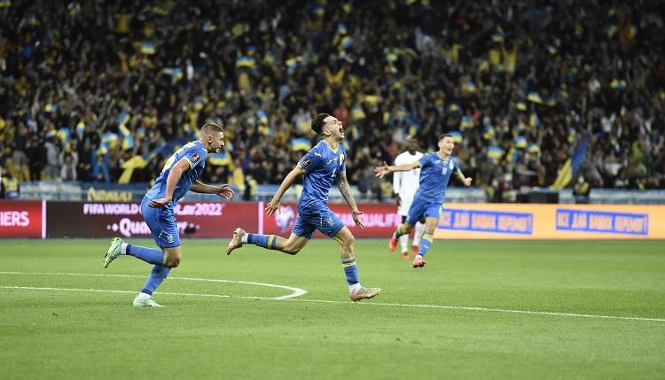 Шапаренко, матч Україна - Франція