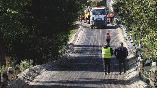 Дуліби, ремонт дороги