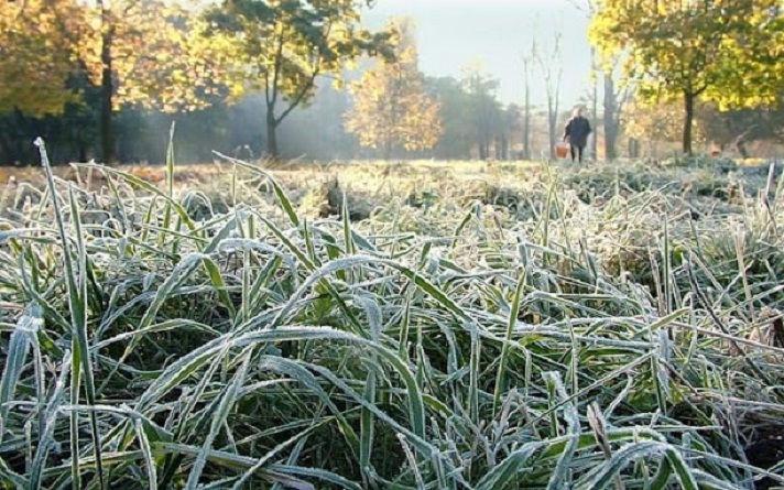 погода у жовтні, заморозки